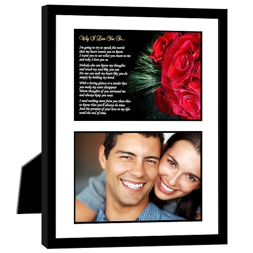 """Why I Love You So"" Photo Frame"