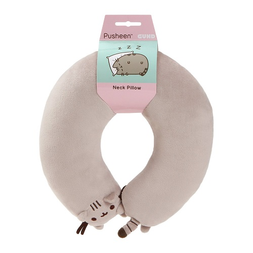 Gund Pusheen Cat Neck Pillow