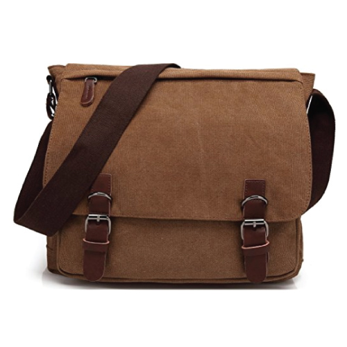 gifts for engineers Kenox Vintage Canvas Messenger Bag