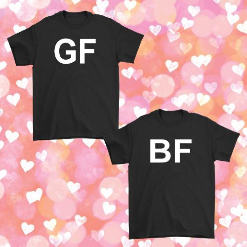 Girlfriend Boyfriend Couple T-Shirt
