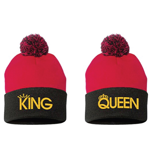 Couple Beanie Set