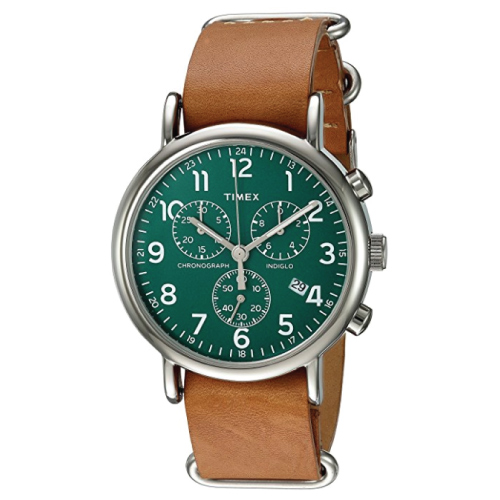 gifts for engineers Timex Weekender Chronograph Watch