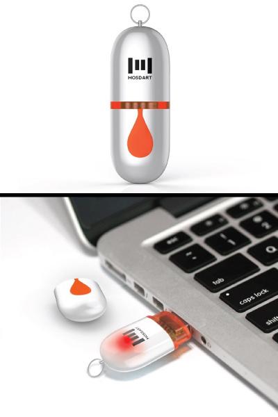 mosDART USB2.0 Flash Drive