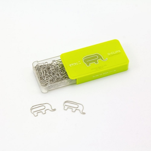 Elephant Paper Clips
