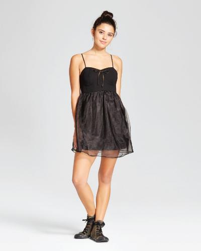 Target Xhilaration Black Party Dress