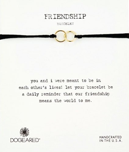 Dogeared Friendship Double-Linked Rings Bracelet