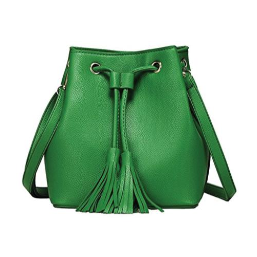 Drawstring Bucket Shoulder Bag