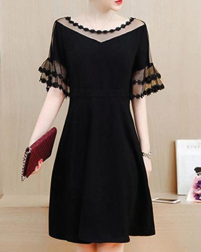 Honwenle Little Black Dress
