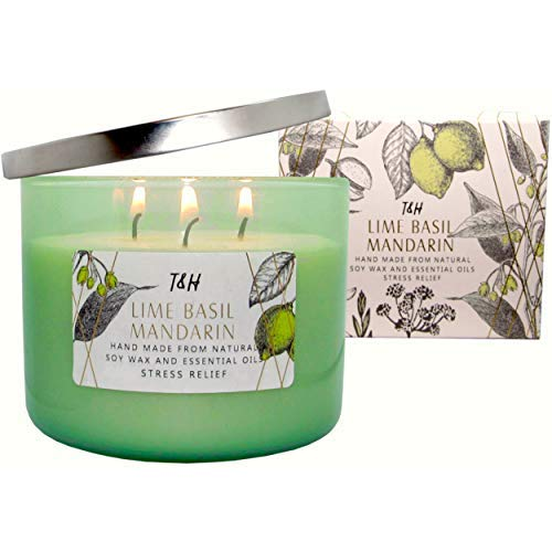 T&H Stress Relief Aromatherapy Candle
