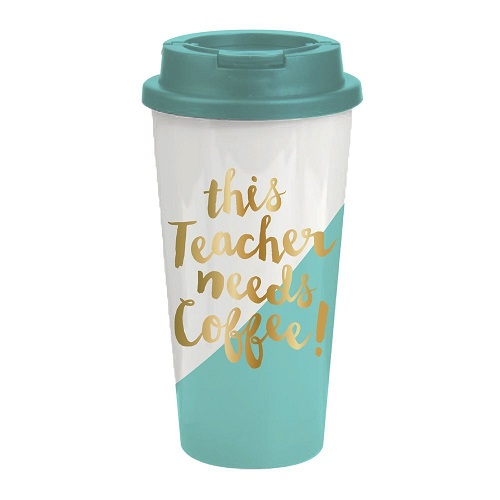 This Teacher Needs Coffee Tumbler
