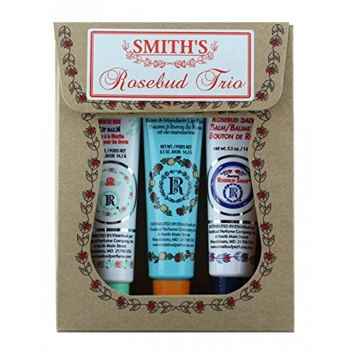 Rosebud Trio Lip Balm Assortment
