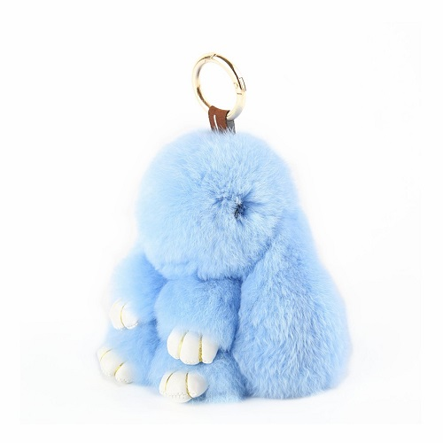 Stuffed Bunny Keychain