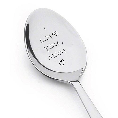 I Love You Mom Spoon