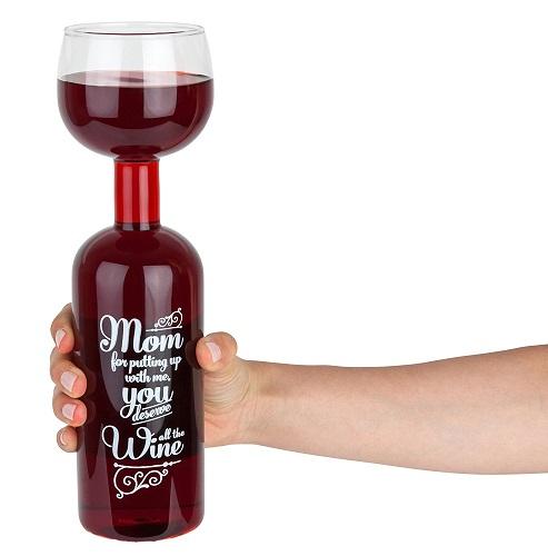 Mom Giant Wine Glass