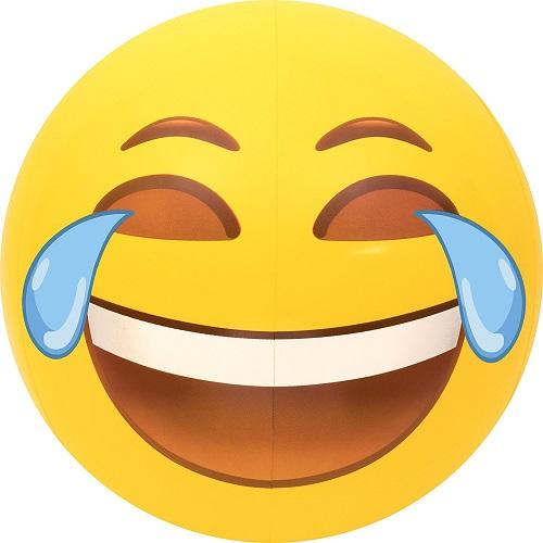 Tears of Joy Emoji Beach Ball
