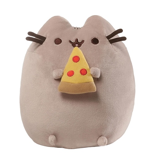Gund Pusheen Pizza Snackable Plush Toy