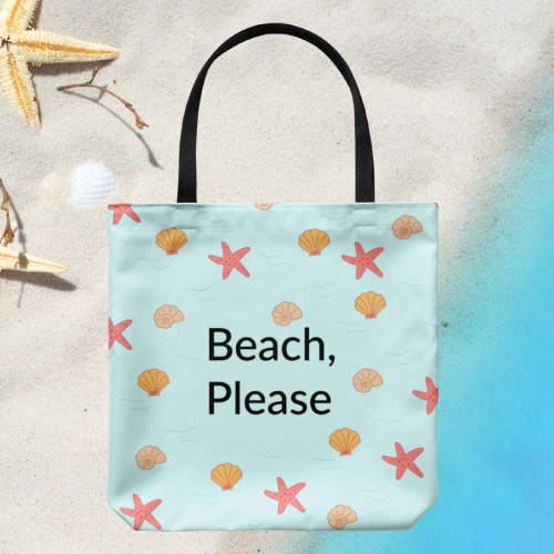 Bodhi Paw Beach Please Tote Bag