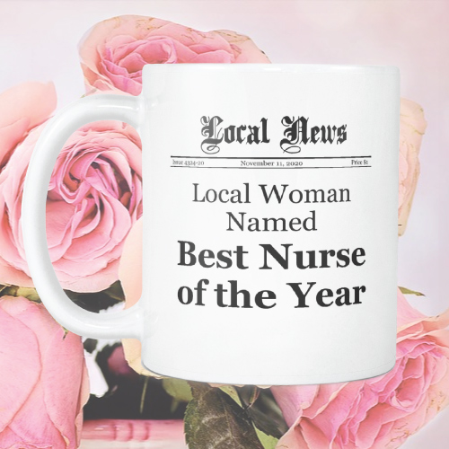 Best Nurse of the Year Coffee Mug