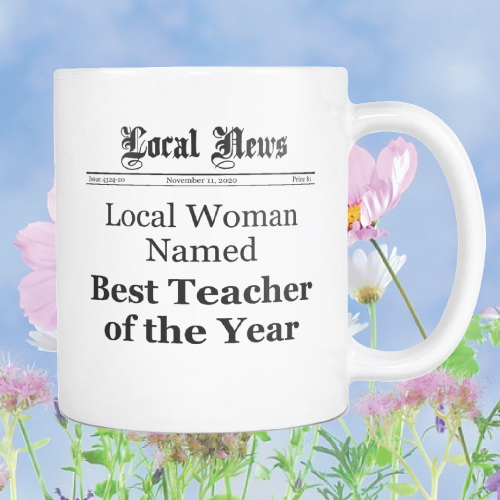 Best Teacher of the Year Mug