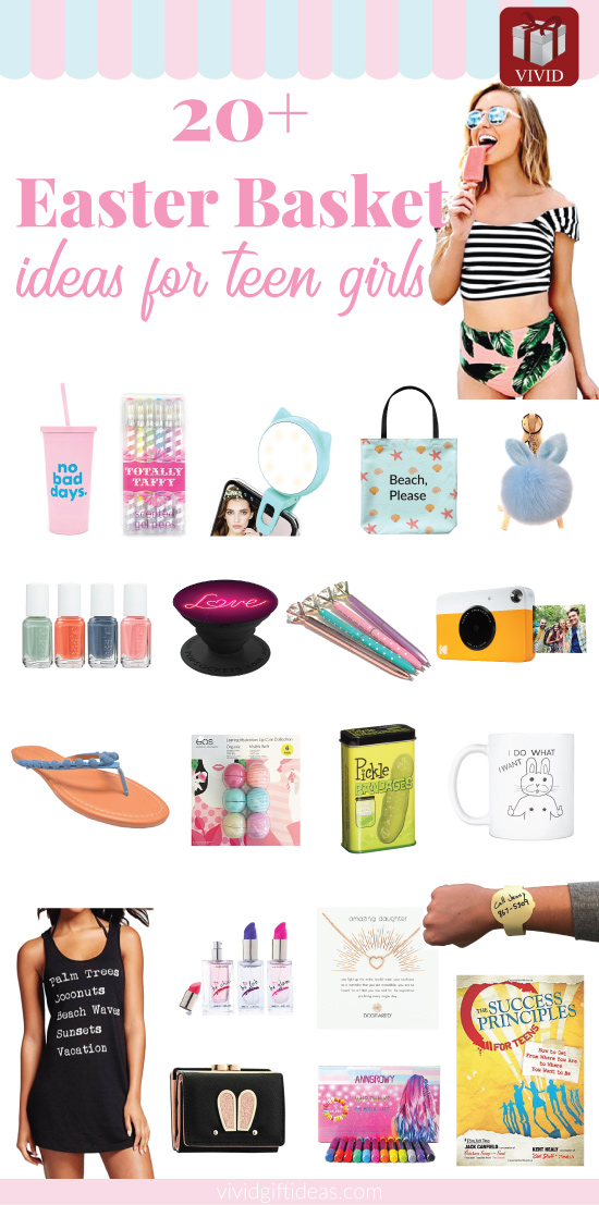 Best easter basket gifts for teen girls 20 trendy stuff loved by easter basket for teen girls negle Image collections