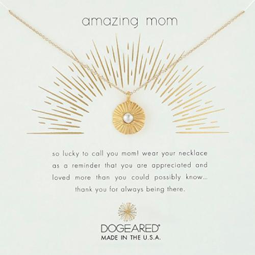 Dogeared Amazing Mom Necklace