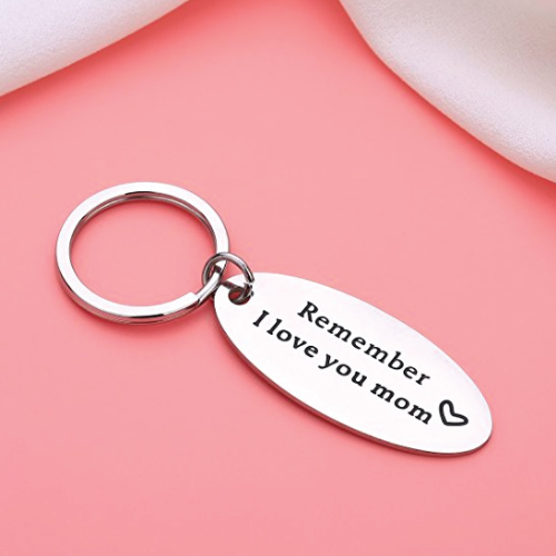 Mom Quotes Keychain
