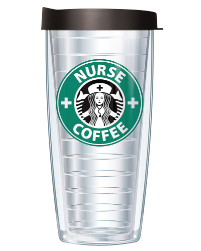 Nurse Coffee Parady Tumbler