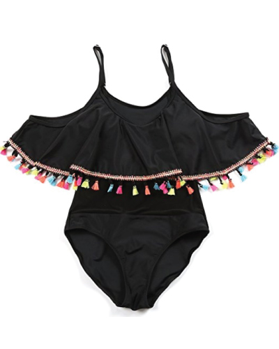 Queenral Ruffle One Piece Bathing Suit
