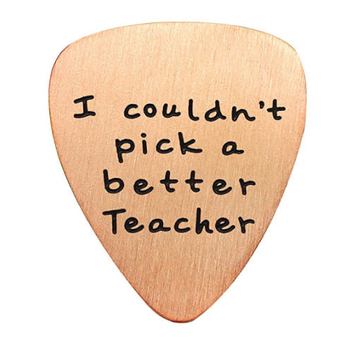 I Couldn't Pick a Better Teacher Guitar Pick