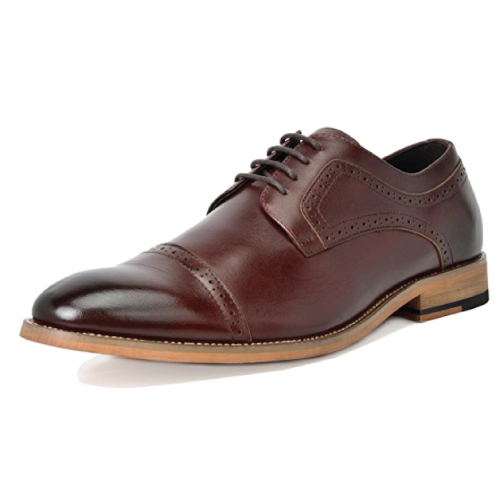 Bruno Marc Italian Leather Oxford Shoes