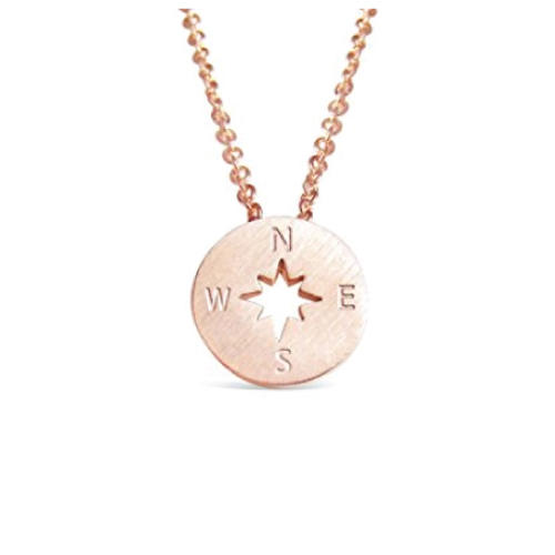 Direction of Life Compass Necklace