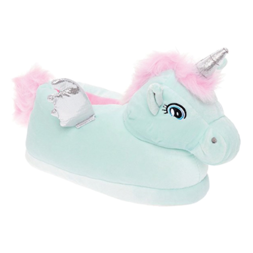 Silver Lilly Pegasus Slippers