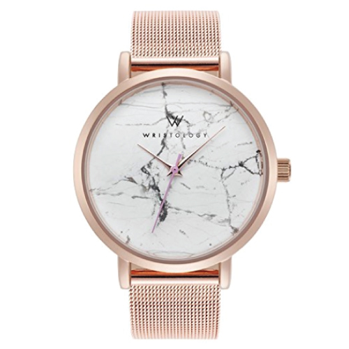 WRISTOLOGY Olivia Real Marble Boyfriend Watch
