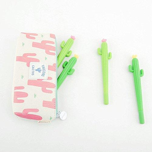 Cactus Plant Gel Pens