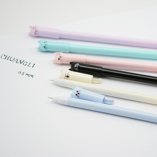 CHUANGLI Kawaii Cat Pens