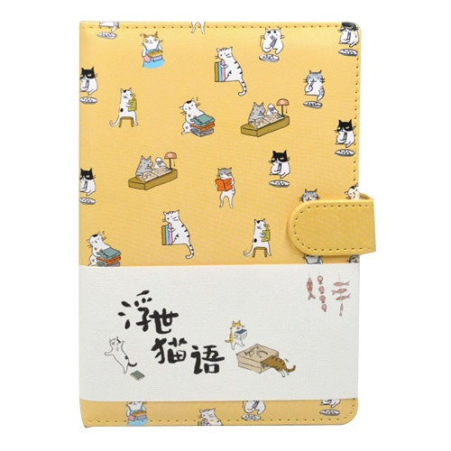 Cat Pattern Notebook