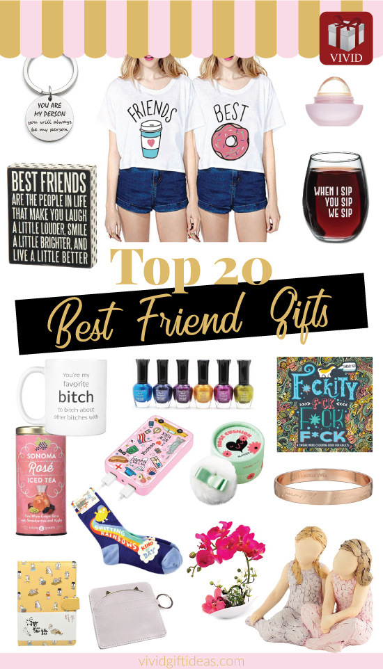 2018 Best Friend Day gifts for best friends