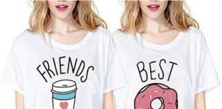 Donut and Coffee Matching Tops