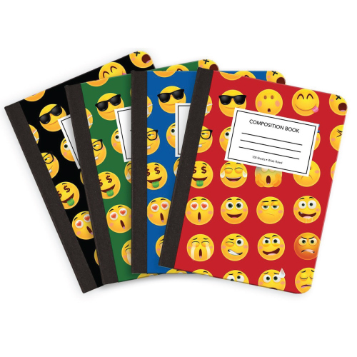 Emoji Composition Notebooks