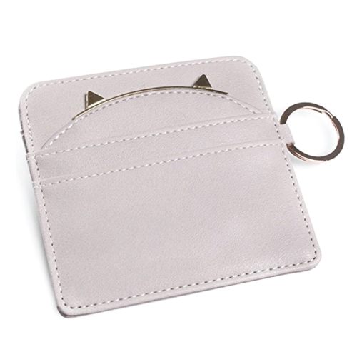 Cat Ear Leather Card Holder