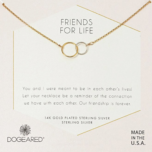 Dogeared Friends For Life Necklace