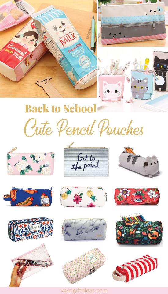 Cute Pencil Case Collection (School Supplies)
