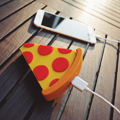 Pizza Slice Portable Charger