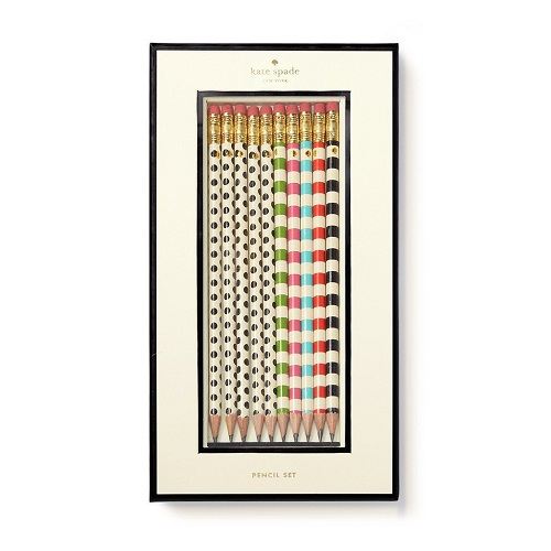 Stripes and Dots Pencil Set