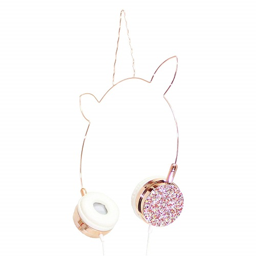 Crystal Unicorn Headphones