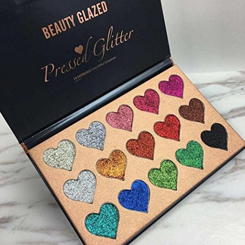 Beauty Glazed Heart Shape Eyeshadow Palette