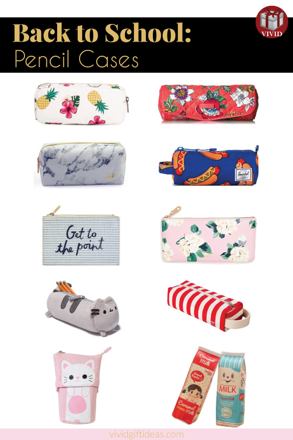 Back to school pencil cases