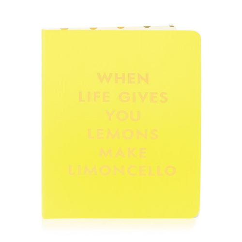 Limoncello Spiral Notebook