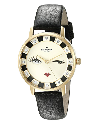 Kate Spade Leather Metro Watch