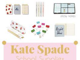 Kate Spade School Supplies